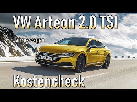 vw arteon 2 0 tsi 2018 unterhalt jahreswagen youtube. Black Bedroom Furniture Sets. Home Design Ideas
