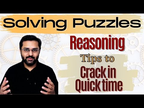 Reasoning: How to solve puzzles | SBI PO 2017 Online Classes #DAY 4