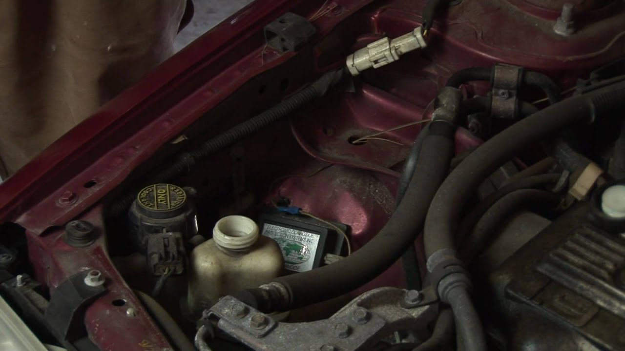 auto repair   replacing power-steering fluid