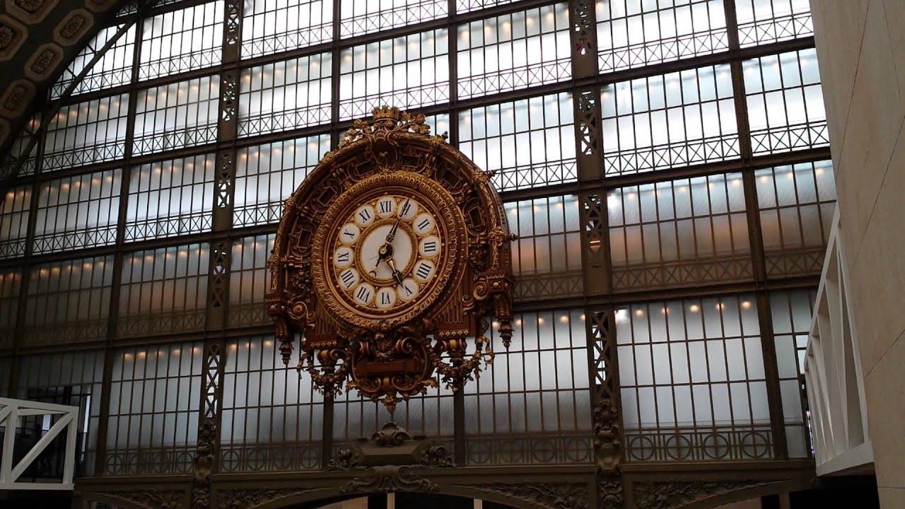 Paris Musée d\'Orsay Horloge - YouTube