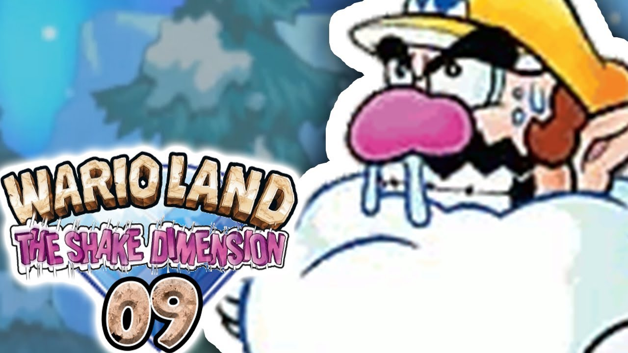 WARIO SE TRANSFORME EN BOULE DE NEIGE ! - WARIO LAND THE SHAKE DIMENSION #09