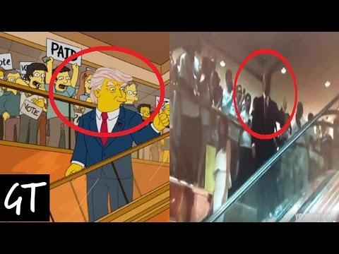 8 Veces Que Los Simpsons Predijeron El Futuro. 2016