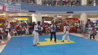 boholympic taekwondo 2016 at bq mall
