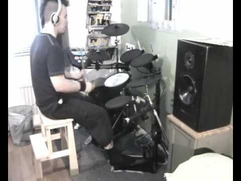 Patrik Fält - Dimmu Borgir - Blessings Upon The Throne Of Tyranny (Electric Drums)