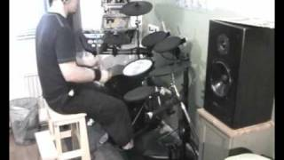 Patrik Fält - Dimmu Borgir - Blessings Upon The Throne Of Tyranny (Electric Drums)