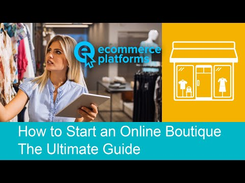 How to Start an Online Boutique: The Progressive Guide