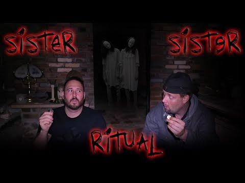 SISTER SISTER RITUAL In Haunted Castle