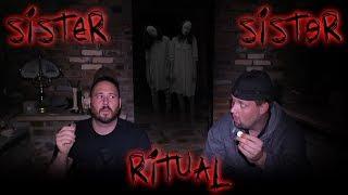 (DO NOT TRY) SISTER SISTER GAME In Haunted Castle - Sara Sarita Game | OmarGoshTV