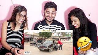 Taxi 420 Prank By NADIR ALI   P4 Pakau 2018   Indian Reaction!