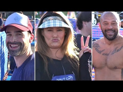 Celebs Compete In Malibu Triathlon: Tia Carrere, Jesse Bradford, Sunny Garcia