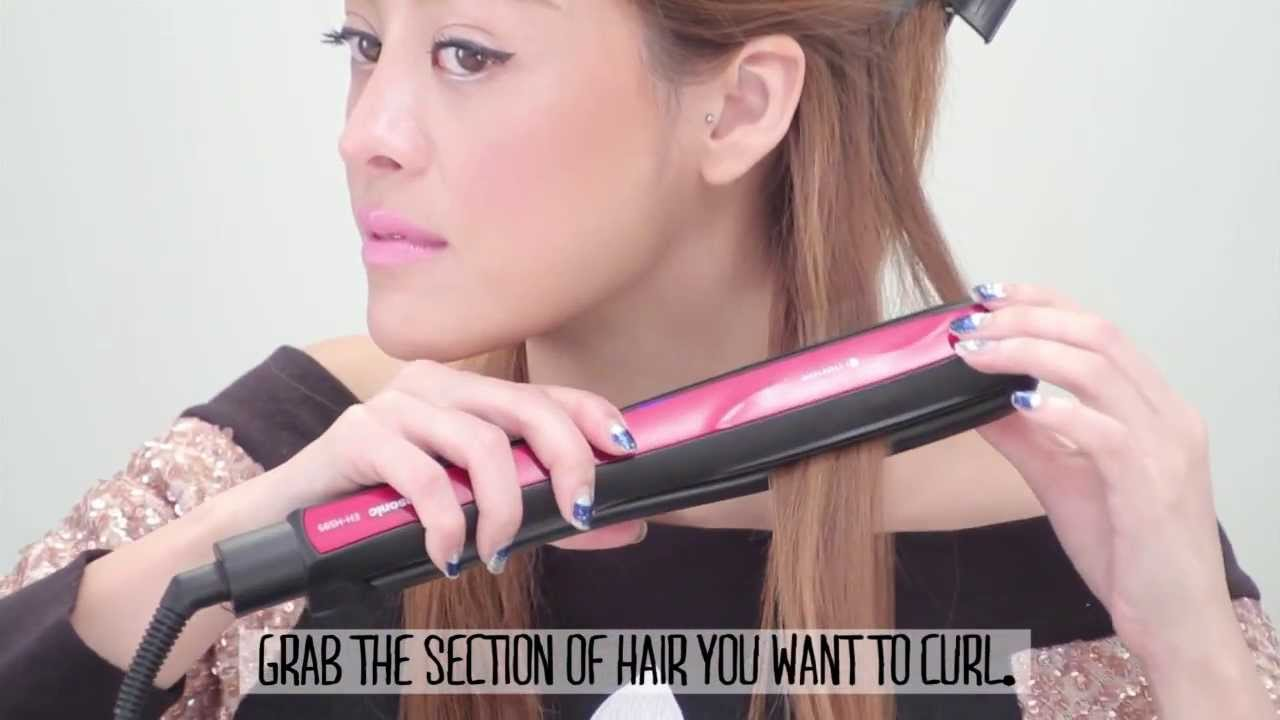 Style Hair Straightener Pearypie  3 Ways To Style Your Hair With A Hair Straightener .