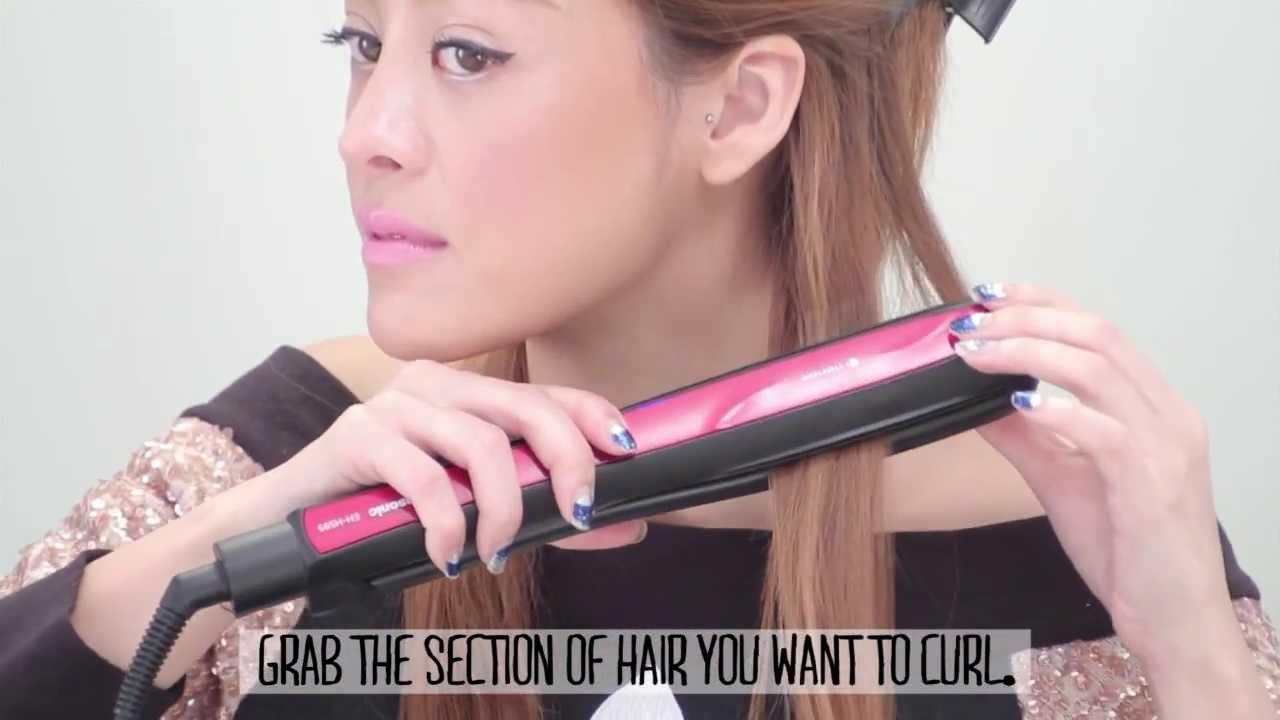 Style Hair Straightener Mesmerizing Pearypie  3 Ways To Style Your Hair With A Hair Straightener .