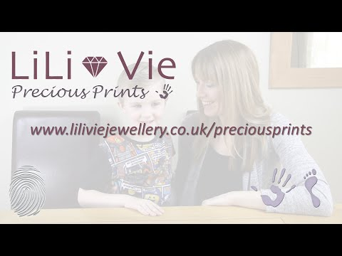 LiLi Vie Hand and Footprint Instructions