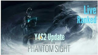 (PS4) Rainbow 6 Siege: Ranked Gameplay|Y4S2 Operation Phantom Sight Update (V1.67)
