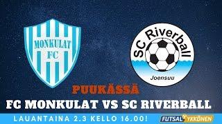FC Monkulat vs SC Riverball 2.3.2019 tilannekooste