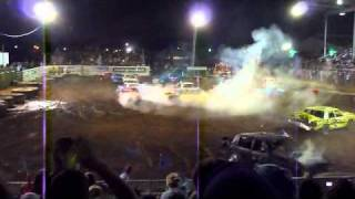 Tillamook Demolition Derby 2010- #38 Cadillac