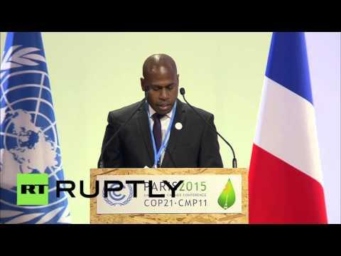 France: Vanuatu calls on COP21 to enforce max temp increase of 1.5 degrees