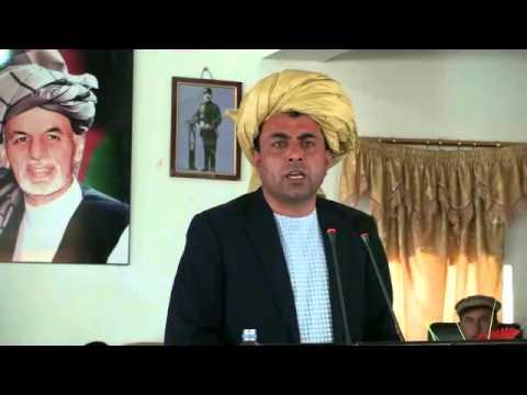 Abdul Rahim Ayoubi Speech In The Opning Cermony Of Paktika Province Office