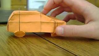 Origami  Suv (robert J Lang) Not A Tutorial