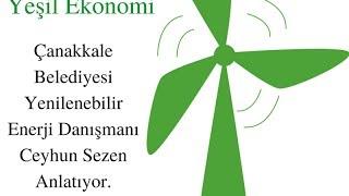 Yeşil İklim: Yeşil Ekonomi: Yenilenebilir Enerji Danışmanı Ceyhun Sezen