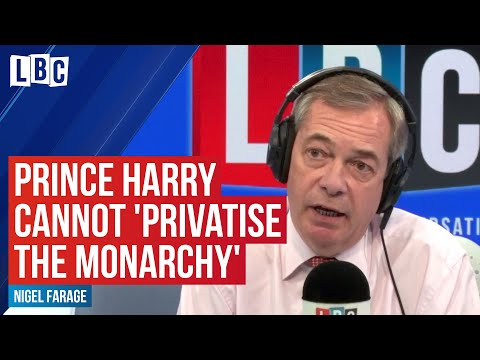 Prince Harry cannot 'privatise the monarchy,' 'disgusted' Royal Marine tells Nigel Farage