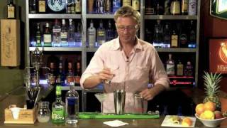 How To Make A Appletini Or Apple Martini Cocktail - Drink Recipes From The One Minute Bartender