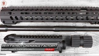 What Makes a Patriot Ordnance Factory AR Upper Special?