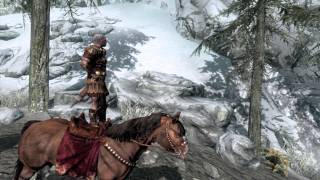 Skyrim - How horses SHOULD be ridden