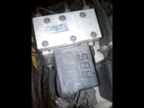 Блок ABS Volvo 940 - YouTube