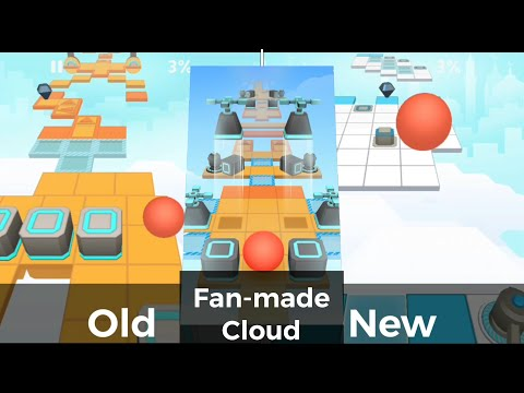 Rolling Sky - Cloud [Fan-made] | Old vs New