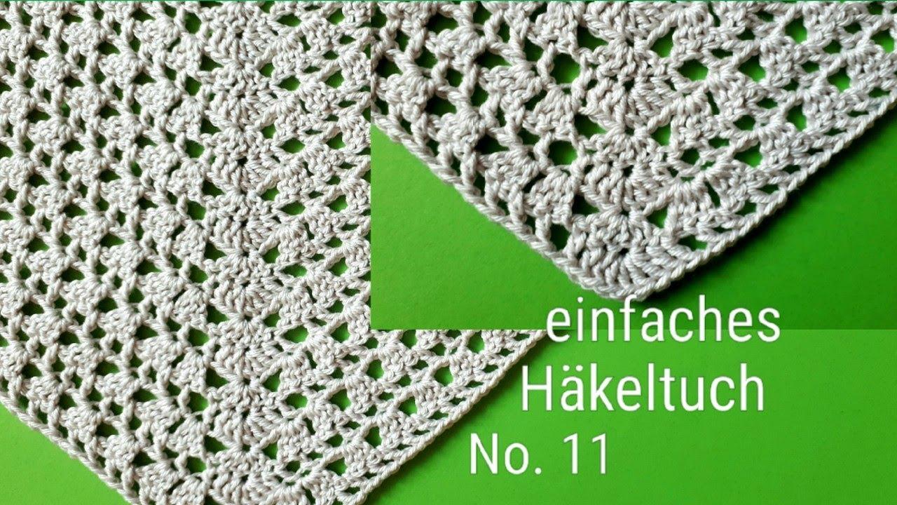 Fancy Häkelntuch Muster Pictures - Decke Stricken Muster ...