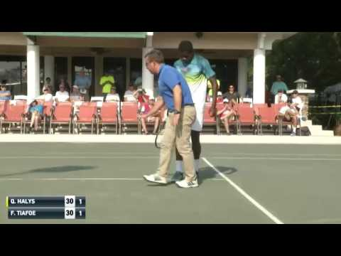 Quentin Halys FRA vs Frances Tiafoe USA - Sarasota 2016
