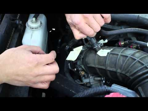 Clean Idle Air Control Valve & Throttle With Minimum Removal Honda Accord