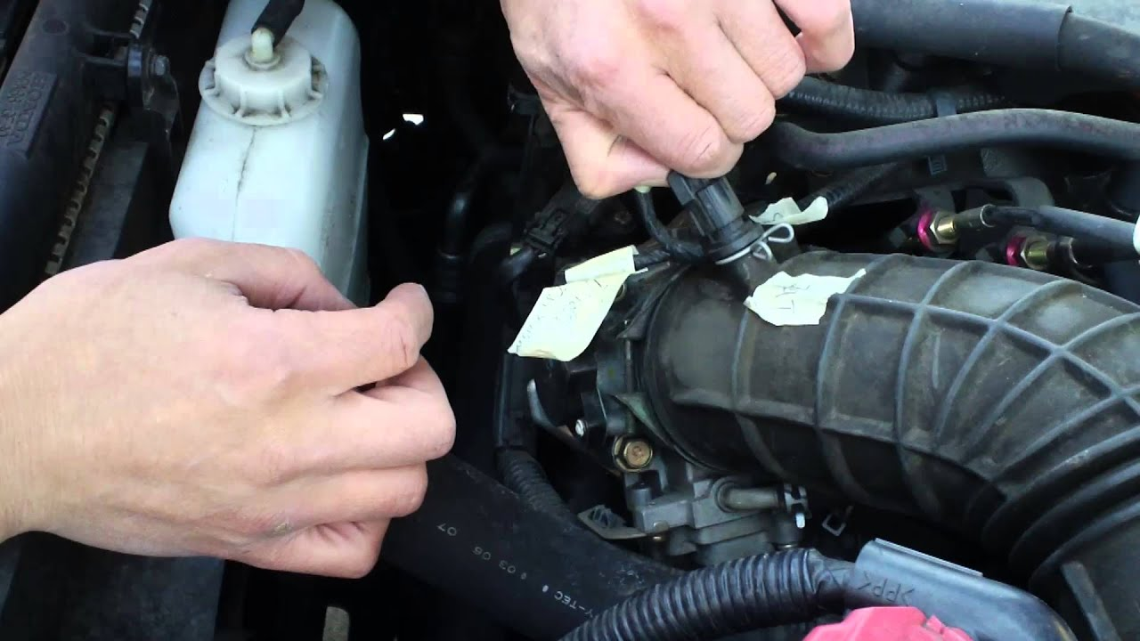 Watch on where is my iat air intake sensor