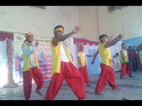 V Star Dance Group  Veer kannadiga Dance