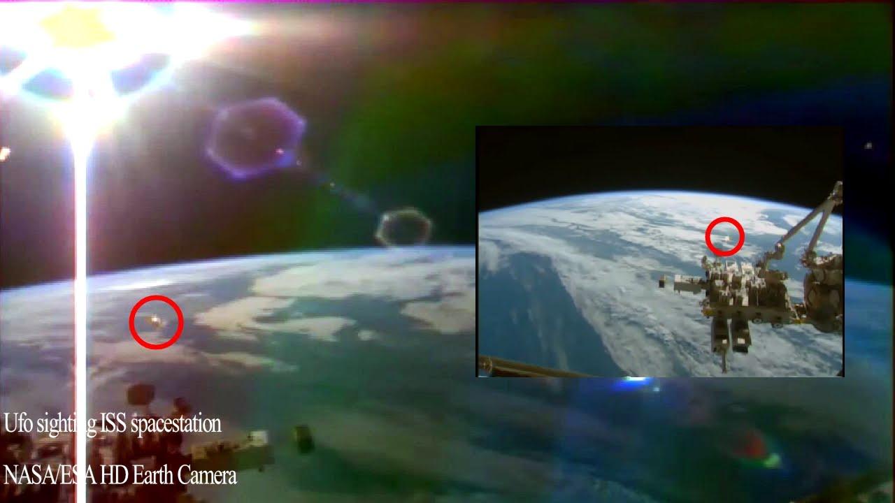UFO video NASA tv ISS live space feed Shape shifting ...