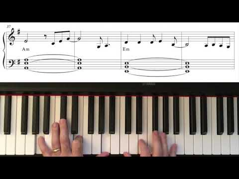 COPYCAT by Billie Eilish—Easy Piano Arrangement