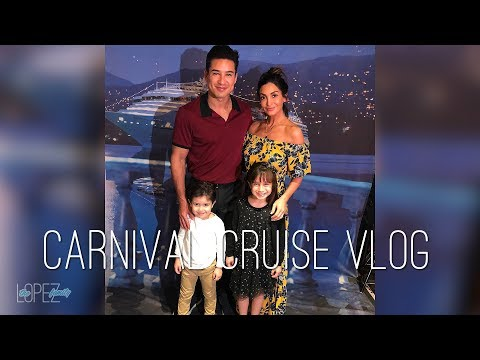 VLOG: Carnival Cruise Vacation with The Lopez Family