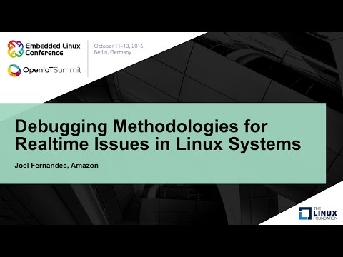Debugging Methodologies for Realtime Issues in Linux Systems