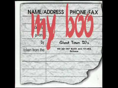 My boo ghost towns dj