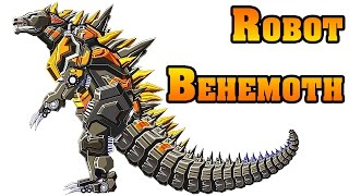 Robot Behemoth Vs Swift Pterosaur Vs Skeleton Dragon Vs Twin Headed Dragon  | Eftsei Gaming