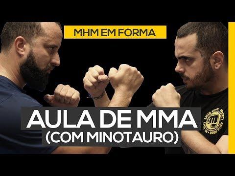 Aula de MMA e A LUTA Eddie x Leo (com Minotauro, do UFC)