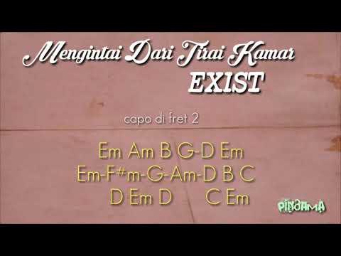 Chord Mengintai Dari Tirai Kamar (exist)