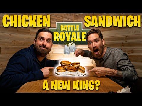 Who Makes the Best Fast Food Chicken Sandwich - Popeye's, Chick-fil-A, Wendy's, Sheetz, KFC Ranked - Видео онлайн
