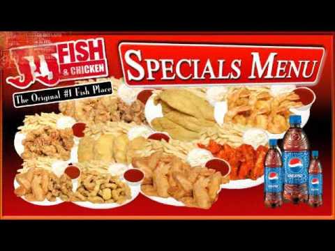 JJFish Catering LCD Menu