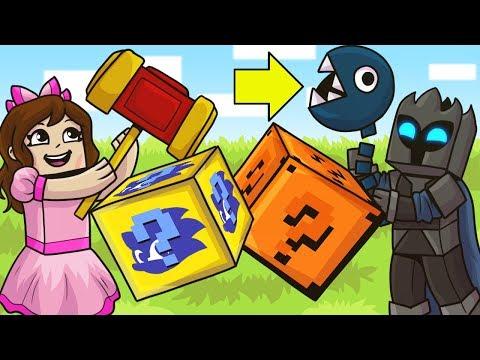 Minecraft: MARIO VS SONIC LUCKY BLOCK CHALLENGE! - Modded Mini-Game