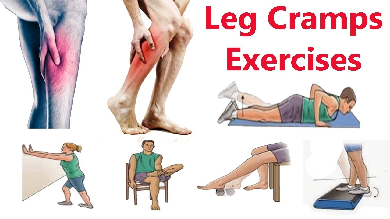 Stretches to Stop Leg Cramps