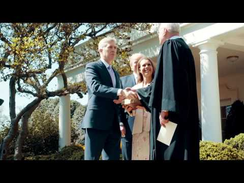 The Swearing-in of Justice Neil Gorsuch to the Supreme Court
