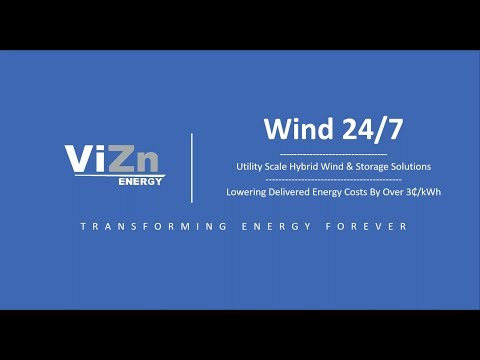 Wind 24 7  How to Keep Wind Assets Producing 24 7 for Less Than Coal