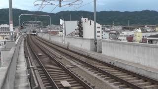 快速急行 神戸三宮行き通過!! 近鉄9820系+近鉄9020系+近鉄9020系10両編成